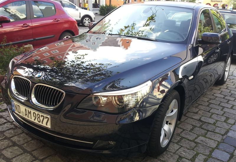 BMW-E60-Facelift-BJ-2008-523-Tonis-E60-Front-seitlich-schön