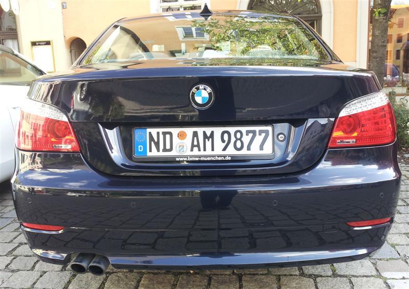 BMW-E60-Facelift-BJ-2008-523-Tonis-E60-Heck