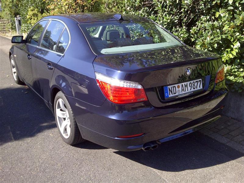 Bild-4-BMW, BMW 5er- E60 523i Facelift Baujahr 2008